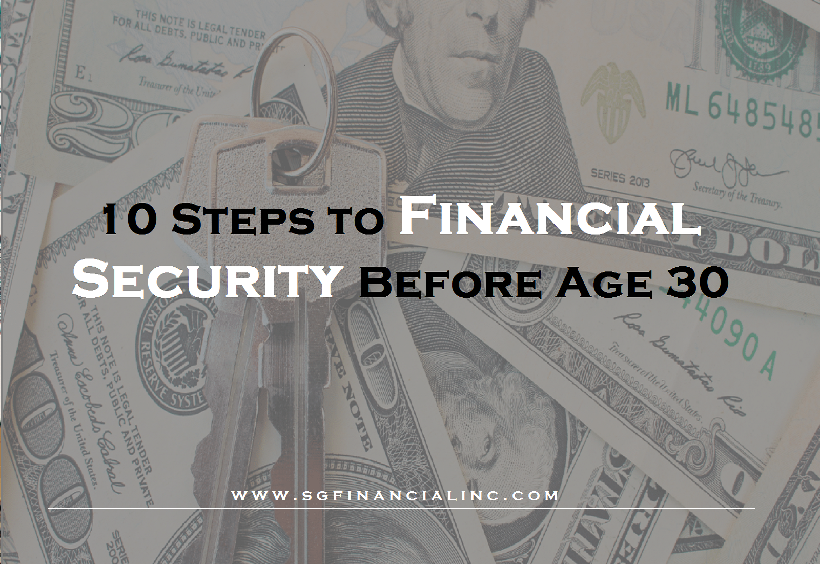10 Steps to Financial Security Before Age 30