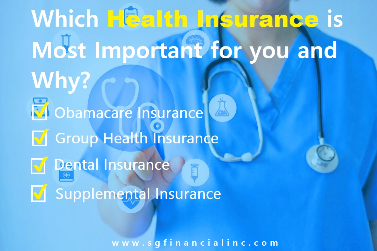 Which Health Insurance is Most important for You and Why?