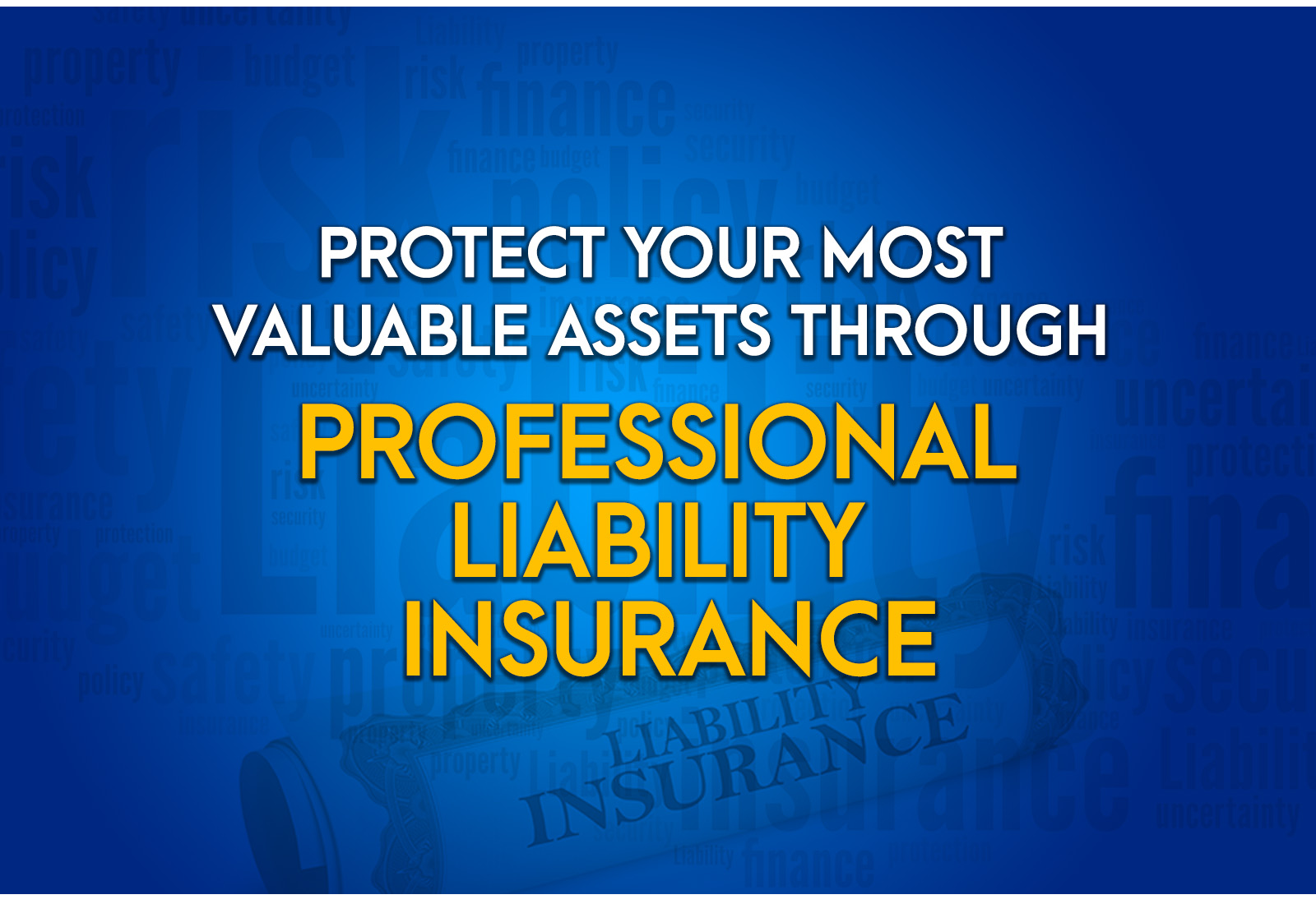 Protect Your Most Valuable Assets Through Professional Liability Insurance